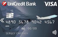 Дебетовая карта «Visa Air» ЮниКредит Банка